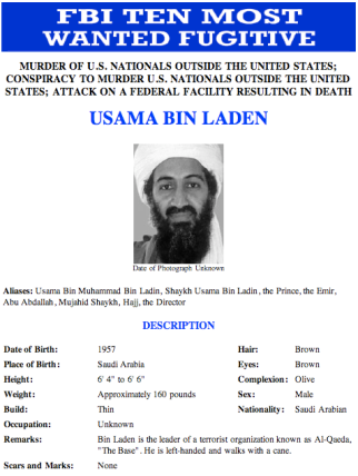 Bin Laden CIA